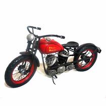 Réplica Moto Antiga Estilo Artesanal Rústico Vintage Mt201sa