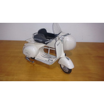 Lambreta Vespa Com Side Car 1:6 Linda!