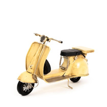 Miniatura Lambreta Amarela