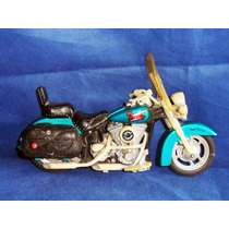 Antiga Moto Turbo Toy State 1994 No Estado Para Reparo 24cm