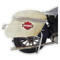 Moto Harley Davison Miniatura Vintage Retro Ferro Fundido