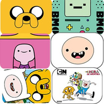 Mouse Pad Hora Da Aventura - Adventure Time