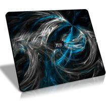 Mousepad Gamer Winpad Aura Blue Grande Speed 45x40cm , Qck +