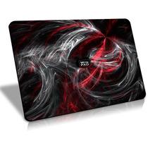 Mousepad Gamer Winpad Aura Red Médio Control 36x28cm , Qck +