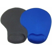 Mouse Pad Ped Ergonômico C/ Apoio P/ Pulso E Tecido Especial