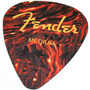 Mouse Pad Palheta Fender Medium Pick Tortoise Shell Sunburst