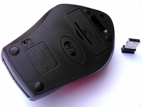 Mouse Sem Fio 2.4g Wireless Optical Alcance Até 10 Metros