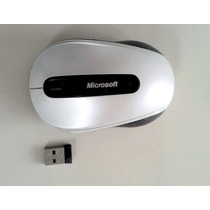 Mouse Microsoft Wireless Mobile Mouse 4000 Bluetrack Branco