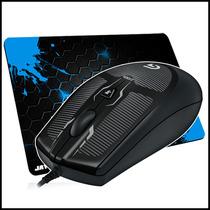 Mouse Gamer Logitech G100s 2.500 Dpi + Mousepad Grátis