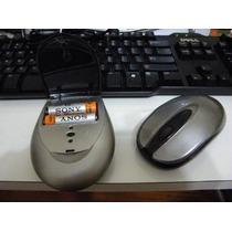 Mouse Ótico Sem Fio Genius Com Carregador De Pilhas
