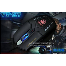 Super Mouse Gamer Pc Vp-x7 Com 6 Botões 2400 Dpi Usb Óptico