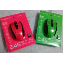 Mouse Wireless Sem Fio 2.4ghz Usb Alcance 10m Notebook Pc
