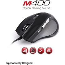 Mouse Com Fio Óptico Zalman 1600dpi - Zm-m400 Usb#sp.retira