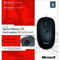 Mouse 200 Usb Microsoft Original Novo 35h-00006
