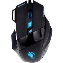 Mouse Gamer Fortrek Black Hawk Óptico 2400 Dpi Com 7 Botões