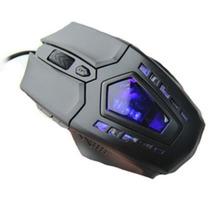 Mouse Gamer Vp-x8 Azul 2400 Dpi Com Fio