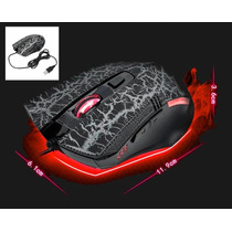Mouse Laser Gamer Usb 3200 Dpi Pc Note Alta Precisão P/ Jogo