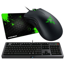 Mouse Razer Deathadder Chroma 10000dpi + Pad + Razer Cyclosa