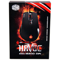 Mouse Gamer Cooler Master Storm Havoc 8200 Dpi