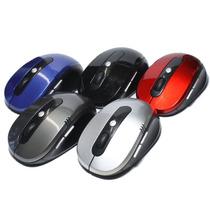 Mouse Wireless Sem Fio 2.4ghz Usb Alcance 10m P/ Notes E Pcs