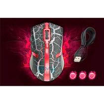 Mouse Gamer 3200 Dpi Ótico C/ Fio Usb - 6 Botões + Mouse Pad