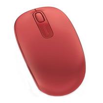 Mouse Óptico Sem Fio Microsoft 1850 U7z-00038 Vermelho