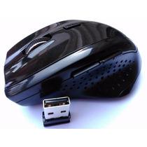 Mouse Sem Fio 2.4ghz Wireless Optical Alcance Até 10 Metros