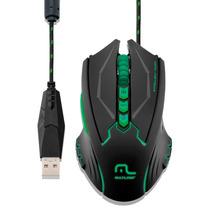 Mouse Gamer 8 Botões C/led 4 Velocidades 2500 Dpi Mo218 Novo