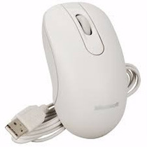 Mouse Microsoft 200 35h-00005 Optical Usb Branco