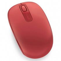 Mouse Óptico Sem Fio Microsoft 1850 Vermelho Lacrado