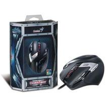 Mouse Gamer Gx Deathtaker 9 Botoes Macros 5700 Dpi Mmo Rts