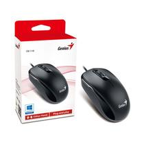 Mouse Genius 31010116100 Dx-110 Usb Preto