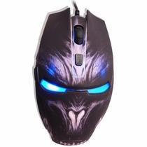 Mouse Gamer Usb G-fire 6 Botões 2800 Dpi Led Azul Cabo 1,5m