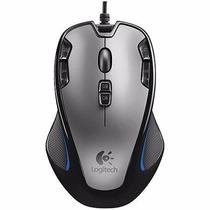 Mouse Gamer Macro G300 Logitech 9 Botões 2500 Dpi Jogo Gta