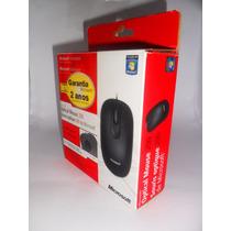 Mouse Óptico Microsoft Modelo 200 - Ambidestro 1000dpi