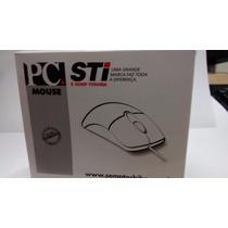 Mouse Óptico Preto C/fio Usb Caixa Sti Semp Toshiba