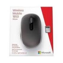 Mouse Óptico Sem Fio Microsoft 1850 Preto - U7z-00008