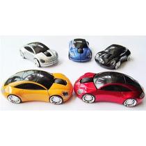 Mouse Carro Carrinho Colorido Optico Com Fio - Luzes Em Led