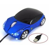 Mouse Em Formato De Carrinho Com Fio