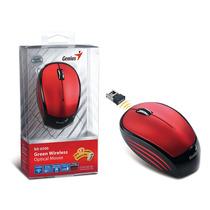 Mouse Wireless Genius 31030099112 Nx-6500 Vermelho Usb Infr