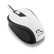 Mouse Emborrachado Mo224 - 1200dpi, Plug&play, Com Fio