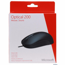 Mouse Microsoft Optical 200 Usb Preto