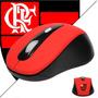Mouse Sem Fio Wireless - Mouse Sem Fio Do Flamengo