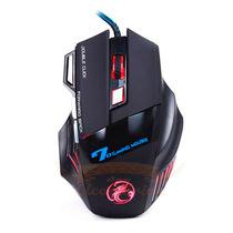 Mouse Gamer Led Estone 2400 Dpi 7 Botões - Led Alta Precisão