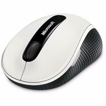 Mouse Microsoft 4000 Wireless Sem Fio Usb Bluetrack * Branco