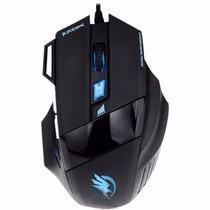 Mouse Gamer Usb 2400 Dpi Não Razer/macro Barato 7 Botões Pc