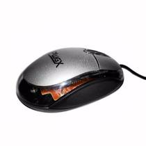 Mouse Optico Usb M-201 800dpi - Prata - Plugx