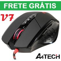 Mouse A4tech Game Bloody Usb V-track V7 Preto Gamer Ultracor