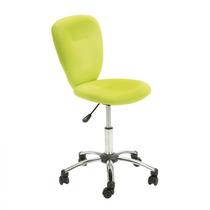 Cadeira Giratória Colorida Pezzi - Verde