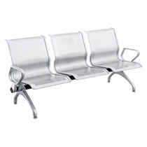 Longarina Espera Reforçada 600kg Airport Aço Epoxy Alumínio